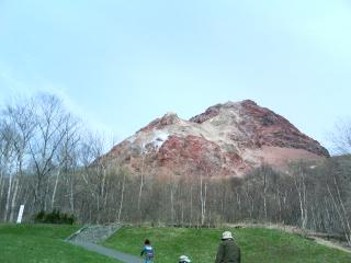 昭和新山なり。